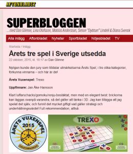 Superbloggen - Trexo